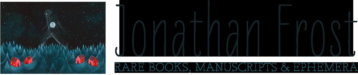 Jonathan Frost Rare Books